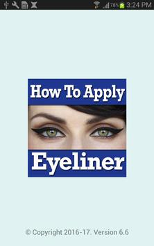 How To Apply Eyeliner Videos poster