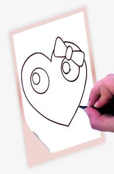 How to draw Hearts screenshot 2
