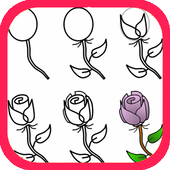 How To Draw Roses icon