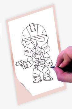 How To Draw Star Wars screenshot 2