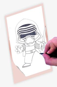 How To Draw Star Wars screenshot 3
