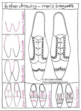 How To Draw Shoes Step by Step screenshot 1