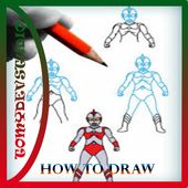 How To Draw Ultraman Best icon