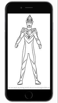 How To Draw Ultraman Best screenshot 4