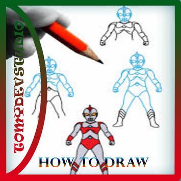 How To Draw Ultraman Best screenshot 5