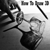 How To Draw 3D icon
