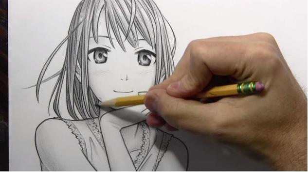 How to draw manga apk screenshot