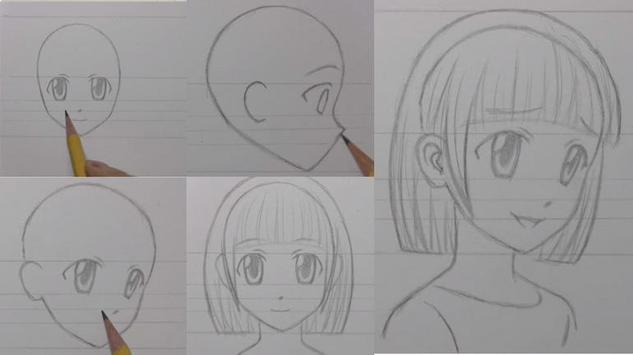 How to draw manga poster