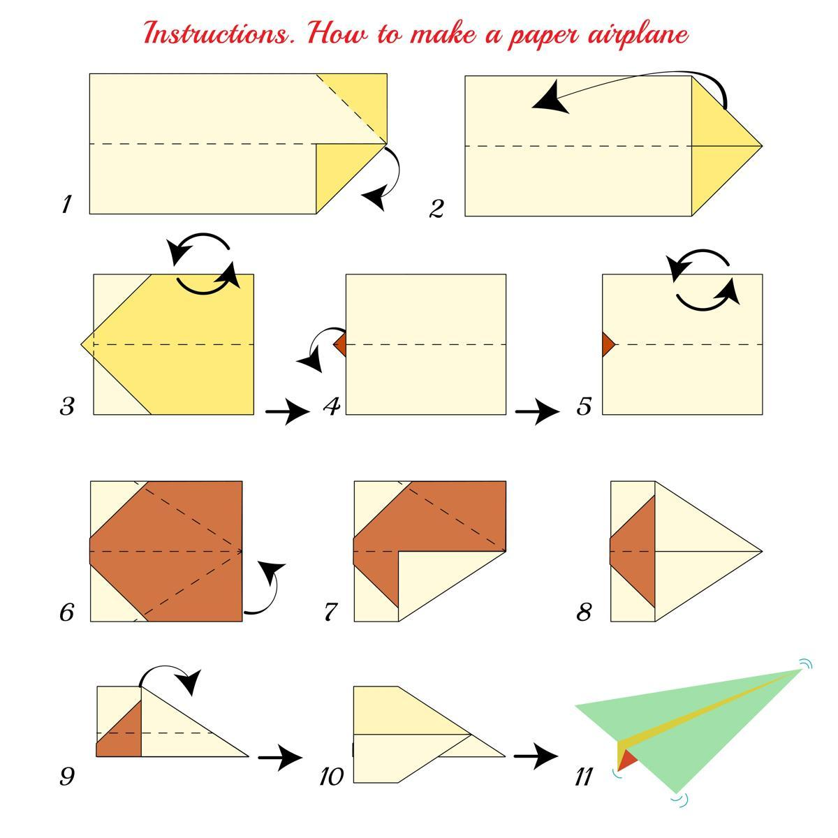 How To Make the Perfect Paper Airplane | 1200x1200