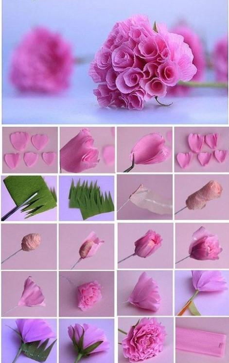 How to make Origami Flowers | Projects of Hanna Zoon | 747x471