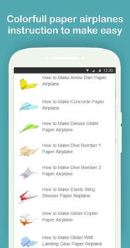 Easy Paper Airplanes Folding  Instructions screenshot 6