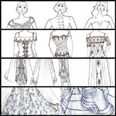 How To Sketch Out Clothing Designs icon