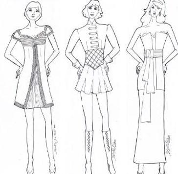 How To Sketch Out Clothing Designs screenshot 1