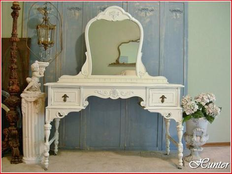 How To Paint Furniture Shabby Chic poster
