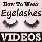 How To Wear Eyelashes VIDEOs icon