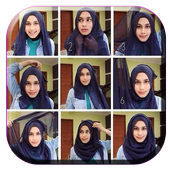 How To Wear Hijab Pashmina icon