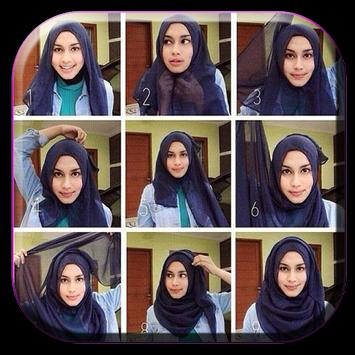 How To Wear Hijab Pashmina screenshot 1