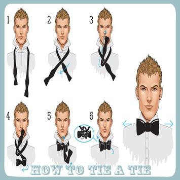 How To Tie A Tie poster
