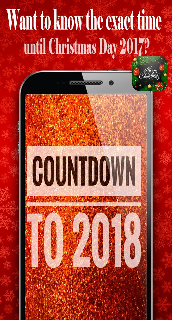 How Long Until Christmas.How Many Days Until Christmas Day Countdown 2017 For