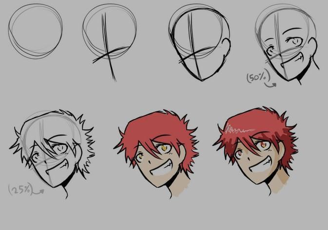 como desenhar anime