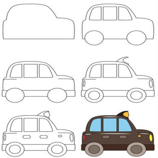 660+ Gambar Mobil Dan Motor Kartun Gratis
