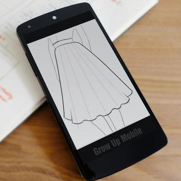 how to draw dresses screenshot 19