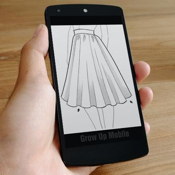 how to draw dresses screenshot 21