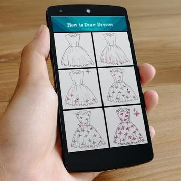 how to draw dresses screenshot 3