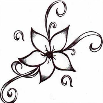 How To Draw Flower Tattoo For Android Apk Download