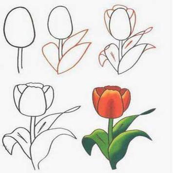 Unduh Cara Menggambar Bunga Apk Untuk Android Versi Terbaru