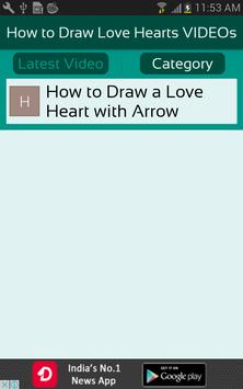 How to Draw Love Hearts VIDEOs screenshot 2