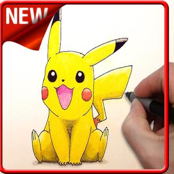 How to Draw Pokemon GO Step by Step poster