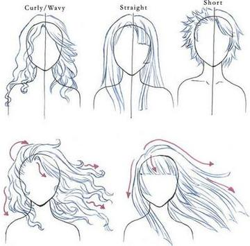 How to Draw Realistic Hair poster