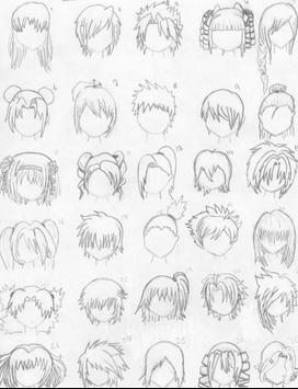 How to Draw Realistic Hair apk screenshot