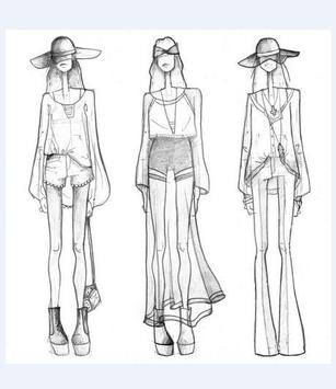 How to Draw a Fashion Figure poster