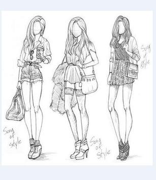 How to Draw a Fashion Figure screenshot 1