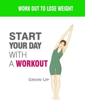 how to lose weight in 30 days poster