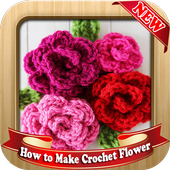 How to Make Crochet Flower icon
