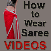 How to Wear Saree Videos icon