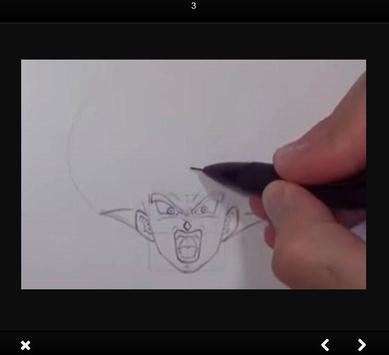 How to draw Goku Ultra Instinct step by step screenshot 4