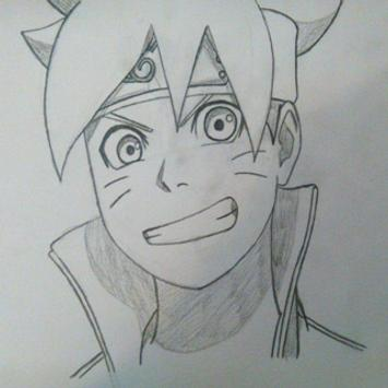 How to Draw Naruto and Boruto screenshot 1