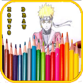 How to draw naruto and friends icon