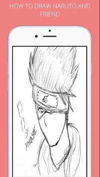 How to draw naruto and friends screenshot 1