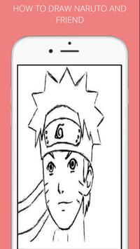 How to draw naruto and friends screenshot 2