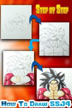 How to Draw Dragon Ball Z Easy screenshot 3