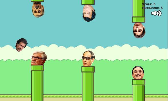 Flappy Imran Khan PTI apk screenshot