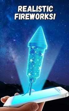 Firework Hologram New Year Christmas screenshot 6