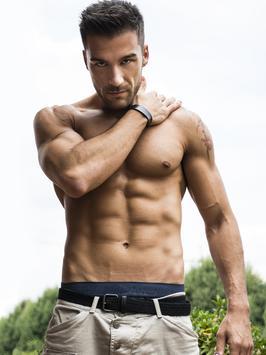 Hot Men Wallpaper poster