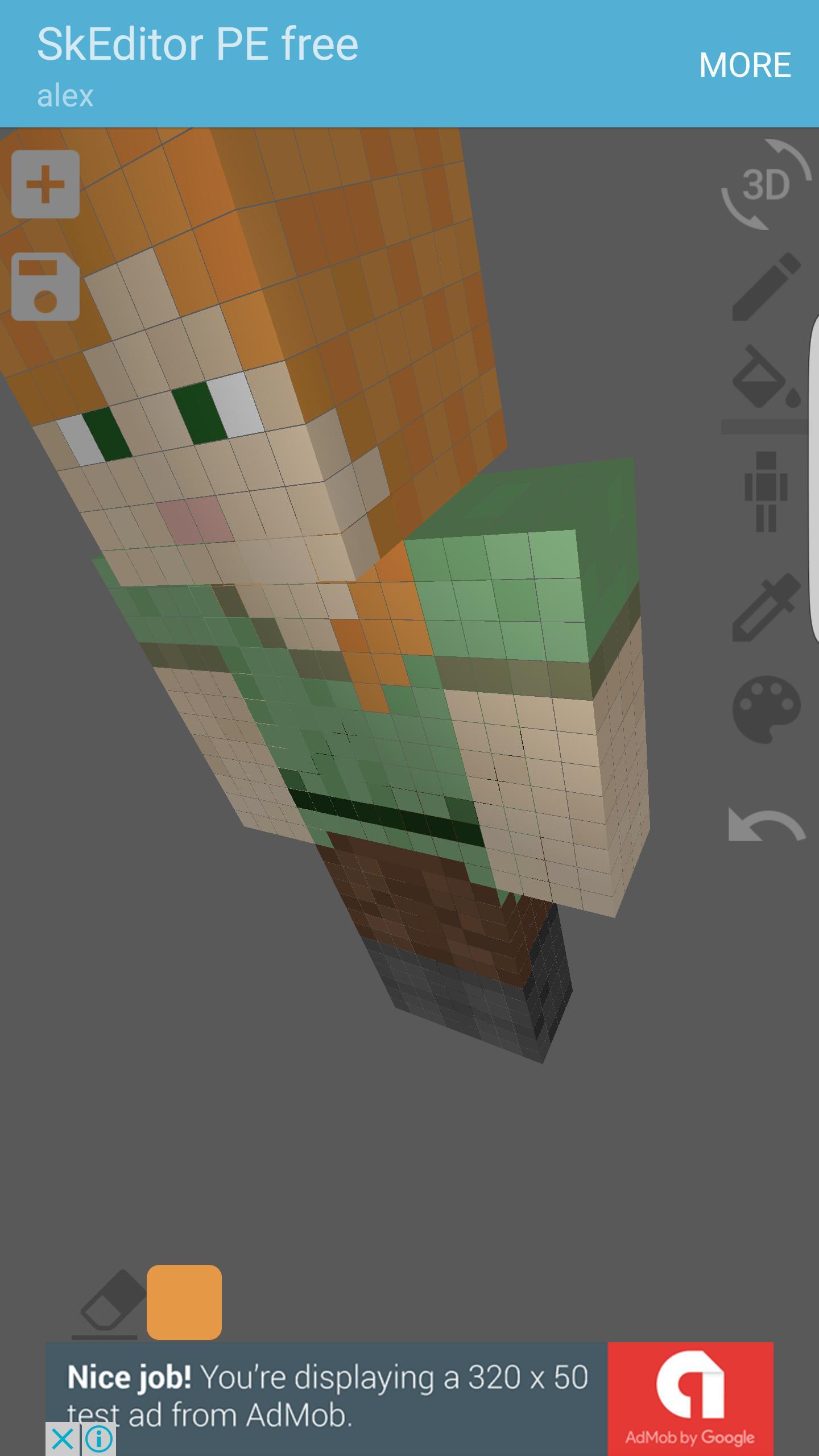 Skin Editor 9D for Minecraft para Android - APK Baixar