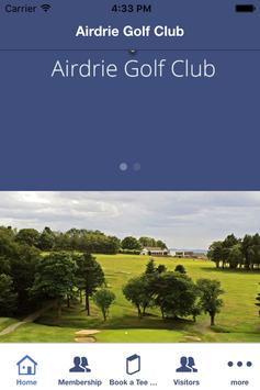 Airdrie Golf Club poster